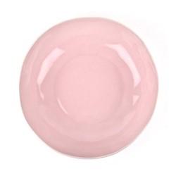 Serving/salad bowl, D30 x H7cm, pale pink