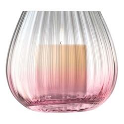 Dusk Vase, H13 x D14.5cm, pink/grey
