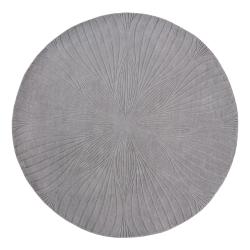 Folia Rug, D150cm, Grey