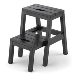 Dania Step ladder, W37 x D38 x H51cm, black