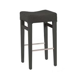 Montague Bar stool, H70 x W38 x D35cm, slate
