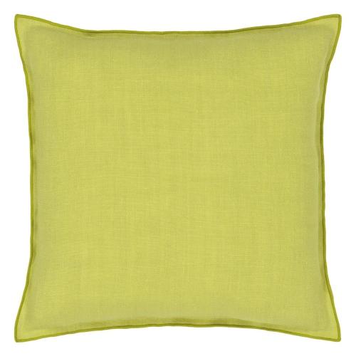 Brero Lino Cushion, H45 x W45cm, Forest