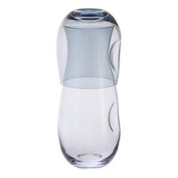 Hollow Carafe and up, H20cm - 0.55 litre, blue