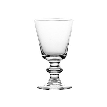 Antoine Set of 6 plain water glasses, 26cl, clear