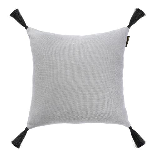 Square cushion, L50 x W50cm, Frost Grey