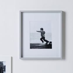 "Fine Wood Photograph frame, 8 x 10"", Grey"