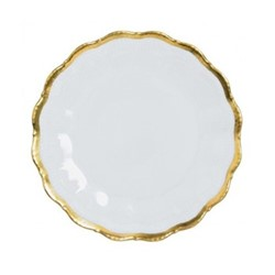 Corail Gold Set of 6 bread and butter plates, 15.5cm