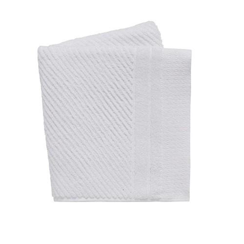 Ripple Hand Towel, L90 x W50cm, White
