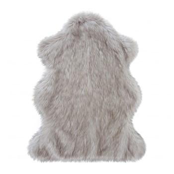 Oystel Faux fur animal rug, 120 x 70cm