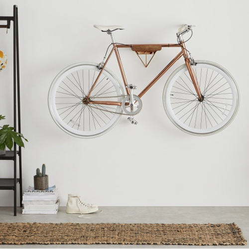 Dayde Bike stand, H20 x W26 x D32cm, Copper