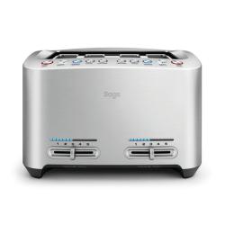 The Smart Toast 4 slice toaster, Stainless Steel
