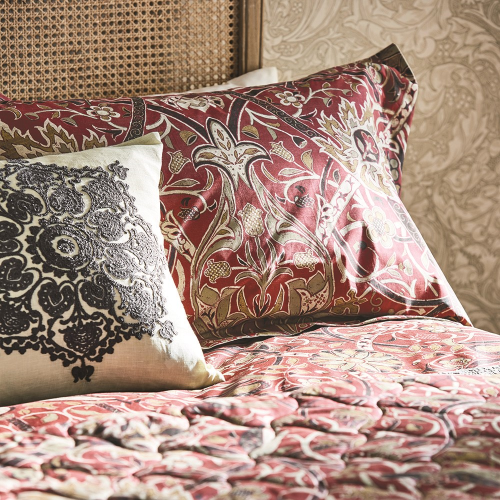 Bullerswood Oxford pillowcase, 74 x 48cm, Paprika