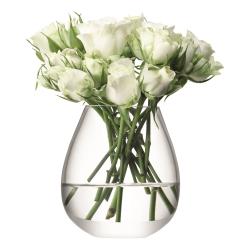 Flower Mini table vase, 9.5cm, clear
