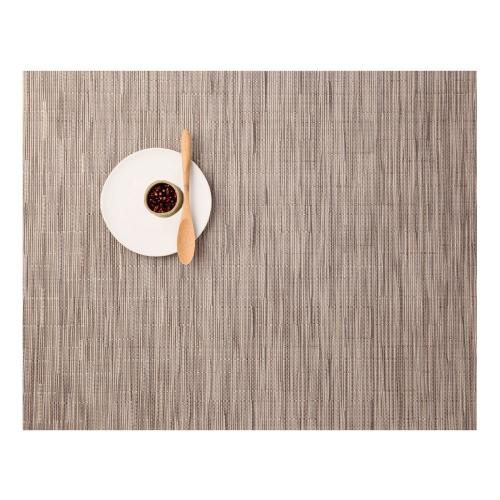 Bamboo Set of 4 rectangular placemats, 36 x 48cm, Dune