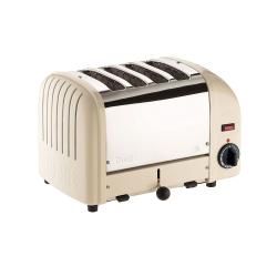 Classic Vario 4 slot toaster, utility cream