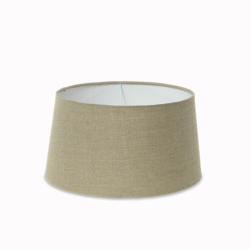 Dia Jute Large jute lampshade, H21.5 x D35/40.5cm, natural