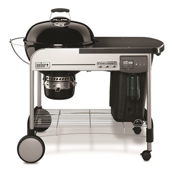 Performer Deluxe Charcoal grill, H112 x W121.9 x D76.2cm, black