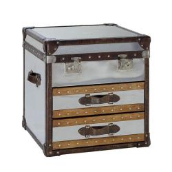 Livingstone Steamer trunk, H60 x W60 x D45cm