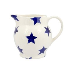 Blue Star Jug, 1/2 pint