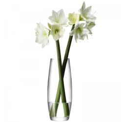 Flower Grand stem vase, 41cm, clear