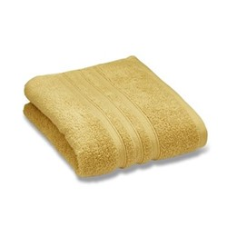 Zero Twist Bath sheet, 100 x 140cm, ochre