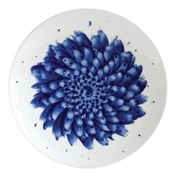 In Bloom Salad Plate, 21cm, blue
