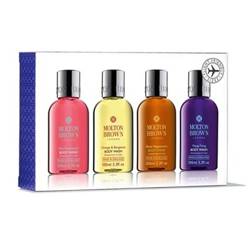 Bestsellers Travel body wash set, 4 x 100ml