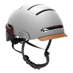 Livall Smart helmet, 38 x 45.5 x 58cm, sandstone grey