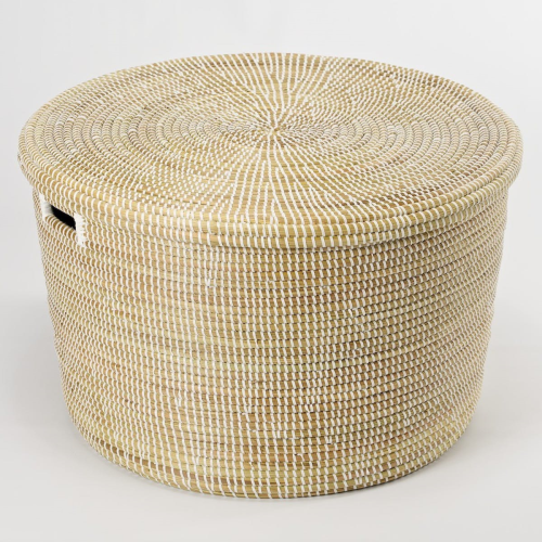African Storage basket, 32 x 50cm, Natural