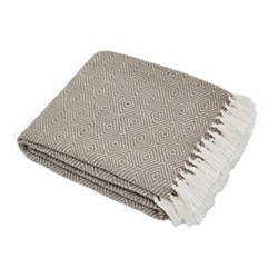 Diamond Throw, L230 x W130cm, monsoon