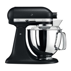 185 Range Stand mixer, 4.8 Litre, cast iron black