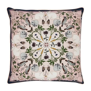 Spring Peach Cushion, L45 x W45cm, multi
