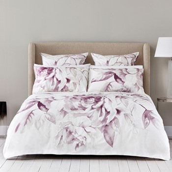 Hadfield King size duvet cover set, 230 x 220cm, cashmere