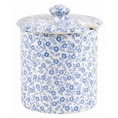 Felicity Jam/sugar pot, 200g, Pale Blue