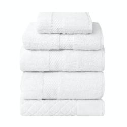 Etoile Bath sheet, 92 x 160cm, Blanc