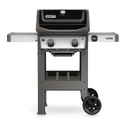 Spirit II Gas barbecue - E-210 GBS, H145 x W122 x D66cm, Black