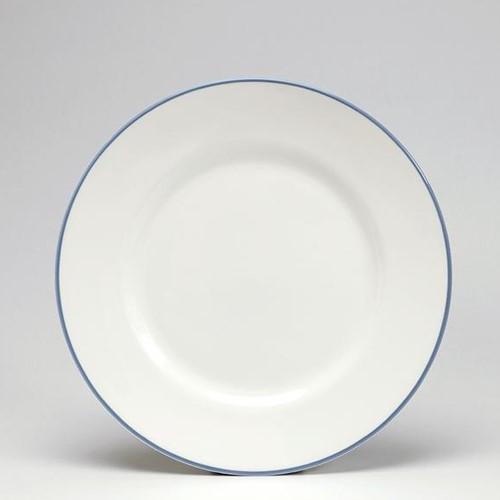 Dessert plate, 21cm, Cornflower Blue/White