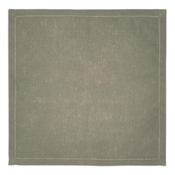 Florence Pair of Napkins, 45 x 45cm, olive