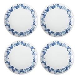 Set of 4 dinner plates W2.8 x H3.5cm
