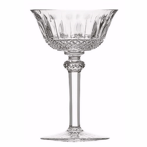 Tommy Champagne saucer, clear