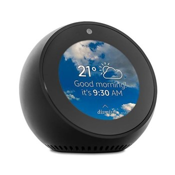 Echo Spot smart speaker, black