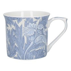 William Morris Mug, H8 x W12 x L9cm, blue