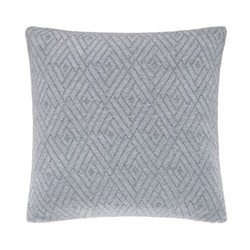 Pimlico Cushion, L40 x W40 x H10cm, platinum