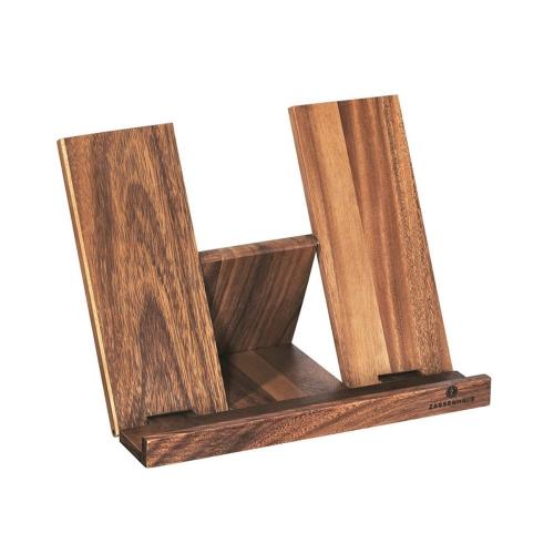 Cookbook stand, Wood