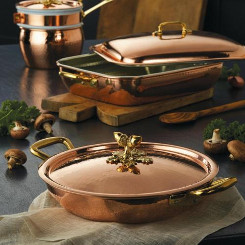 Historia Rectangular au gratin, L32cm, Copper
