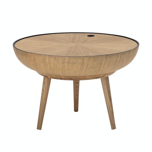 Ronda Coffee table, D60 x H40 cm, Beige/ Natural