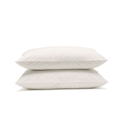 Classic Bedding Pair of housewife pillowcases, 50 x 75cm, Snow