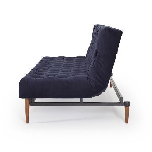 40 Winks Sofa bed, H79 x  W210 x D54cm, Dark Blue