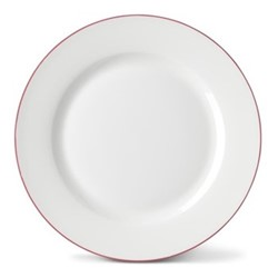 Rainbow Collection Side plate, 20cm, rose pink rim