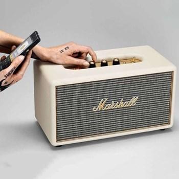 Stanmore Bluetooth speaker, H18.55 x W35 x D18.5cm, cream